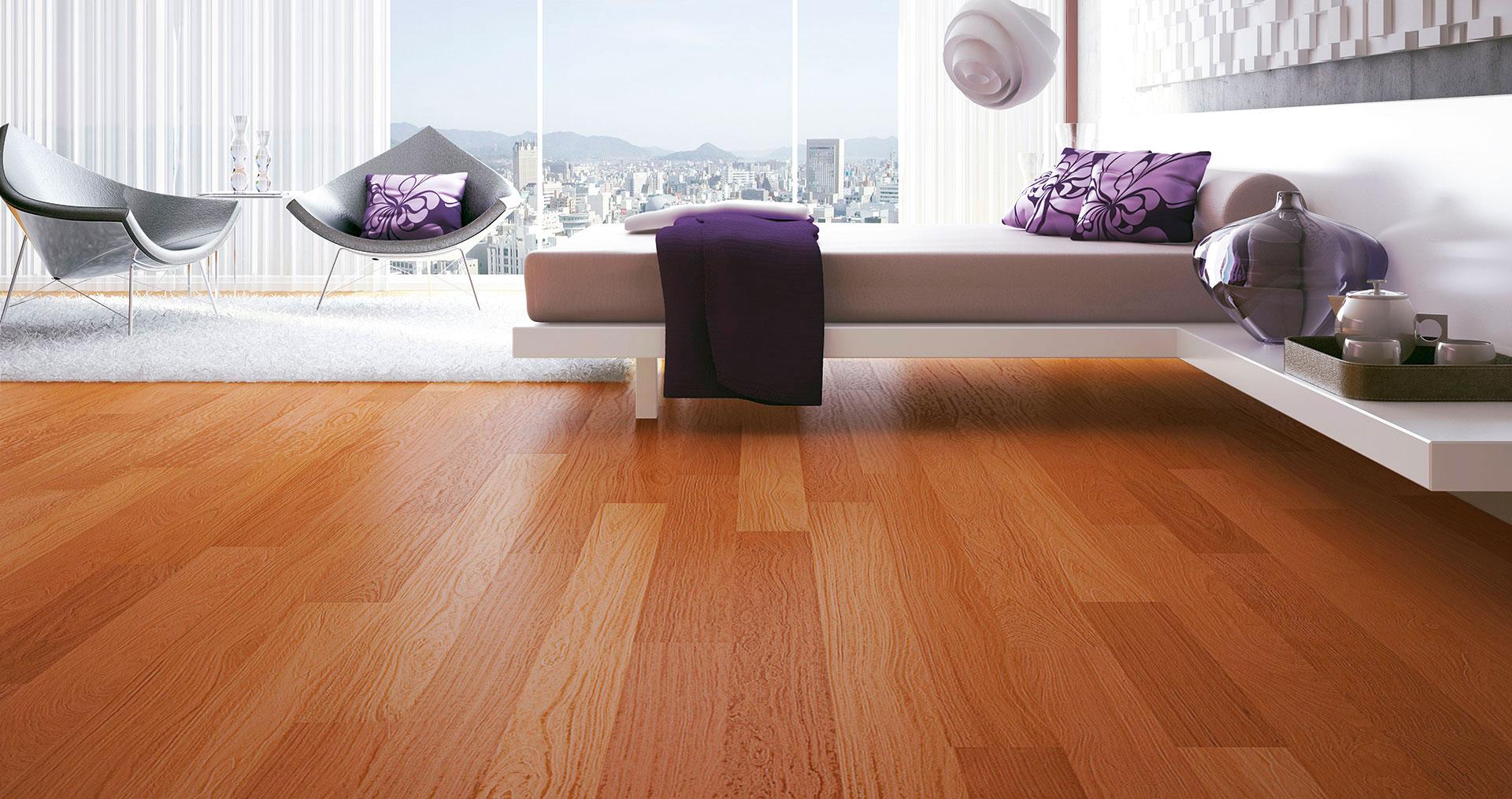 Diferenças entre piso de madeira, piso laminado e carpete de madeira