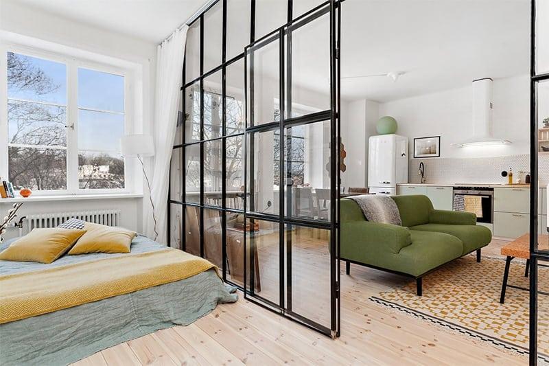 6-apartamento-divisória-vidro-sala-quarto